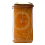 Orange cuts marmalade: also for eyes pleasure